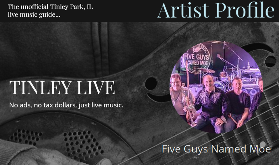 Five Guys Named Moe   Chicagoland's Hardest Working Band